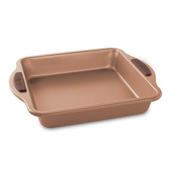 "Nordic Ware Freshly Baked 9"" Copper Square Cake Pan"