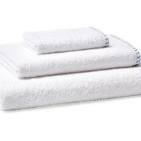3-Pc Whipstitch Towel Set, Moonlight