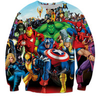 If your a Marvel Fan Get Yourself A Marvel Sweater💦🔥😈😏