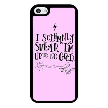 I Solemnly Swear That I Am Up To No Good iPhone 5/5S/SE Case
