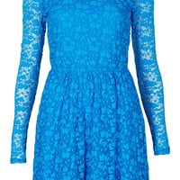 Bubble Lace Skater Dress - Dresses - Clothing - Topshop USA