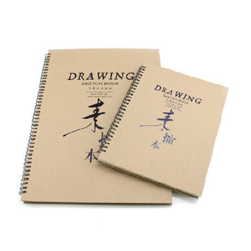 Sketchbook Notebook Travel Journal A3 A4 Large Drawing Book Gift Sketch Book Writing Journal Drawing Book Travel Diary Blank Notebook