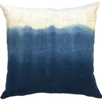 Blue Sugarboo Designs Ink Tapestry Pillow