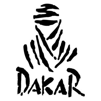 "4""X5"" Dakar Rally Car Window Truck SUV Bumper Auto Door Motorcycle Tool Box Notebook Laptop Sticker Funny Vinyl Decal 9 Colors"