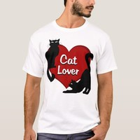 Cat Lover T-shirt Cat Lover Shirts Plus Size Shirt