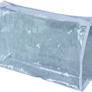 clear vinyl zippered pouch Case of 500