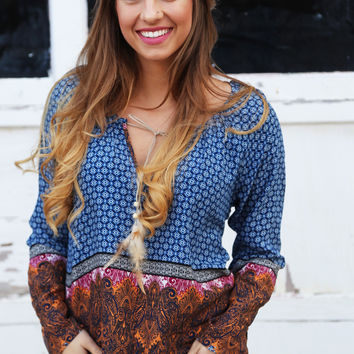 Birds Of A Feather Blouse