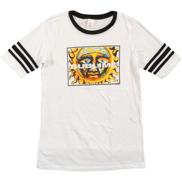 Sublime  Square Sun Jr Hockey T Girls Jr Jersey White