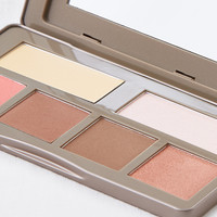 BH Cosmetics Nude Rose Sculpt and Glow Palette, Multi