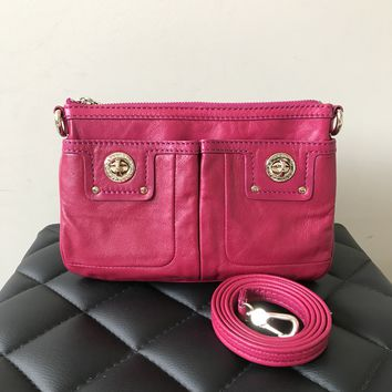 Marc by Marc Jacobs Acai Berry (Pink) Small Crossbody Bag