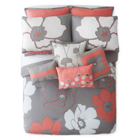 Home Expressions™ Blooms 10-pc. Comforter Set - JCPenney