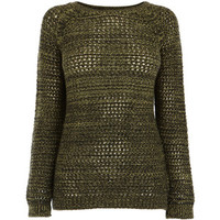 Warehouse Marble Mesh Jumper