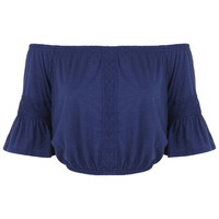 Lace Insert Gypsy Top