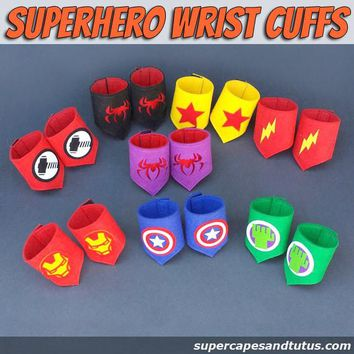 Superhero Wristband/ wristcuffs/ armbands
