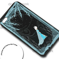 Elsa Frozen Cover for iphone 4/4s, iphone 5/5C, samsung galaxy s3, samsung galaxy s4, ipod 4, and ipod 5