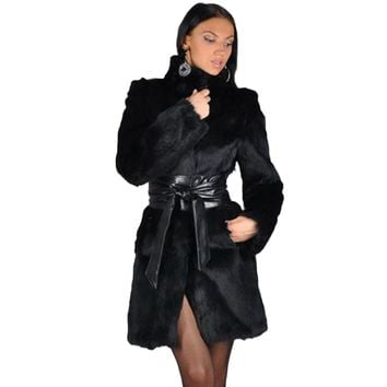 Luxury Fur Coat Long Oversized Fur Jacket