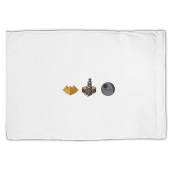 History of Architecture Funny Sci-fi Standard Size Polyester Pillow Case by TooLoud