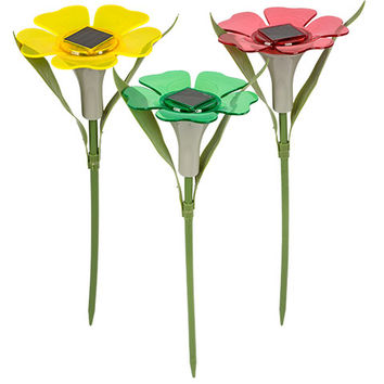 Bulk Garden Collection Solar-Powered Flower Stake Lights at DollarTree.com