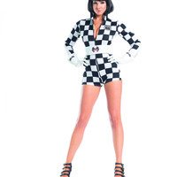 3 Piece Speedy Racer Sexy Sports Costume