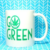 Go Green 11 OUNCE MUG  UPC# 717229265676