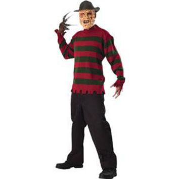 Nightmare On Elm Street Men's  Costume Red