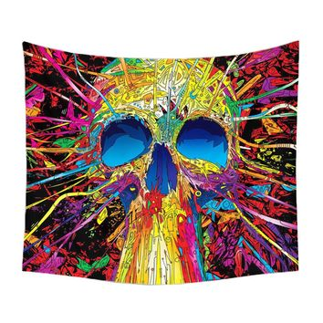 Wall Hanging Tapestry (Skull)