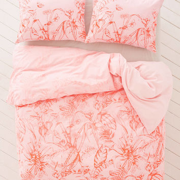 Forest Toile Duvet Cover   Urban Outfitters