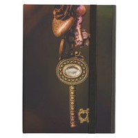 Vintage Key with Copper Charms Photography iPad Air Cover