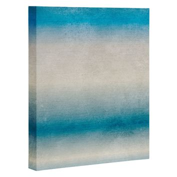 RosebudStudio Blue Fade Art Canvas