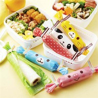 pig cat panda bento box food lunch roll wrapping papers - Bento Accessories - Bento Boxes