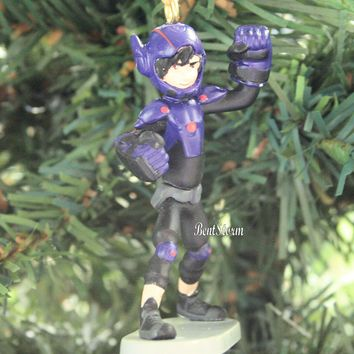 Licensed cool 2014 Custom Disney Big Hero 6 Movie HIRO Hamada Christmas Ornament PVC NEW