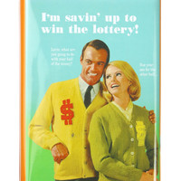 WIN THE LOTTERY COIN BANK