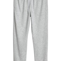 Sweatpants Regular fit - Grey marl - Men | H&M US