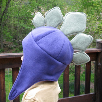 Stegosaurus Dinosaur Hat for Infants Toddlers and Children