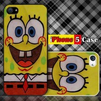 SpongeBob Custom iPhone 5 Case Cover
