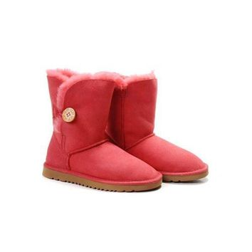Ugg Boots Sale Black Friday Bailey Button 5803 Red For Women 82 07