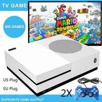 HDMI TV Game Consoles 4GB Video Game Console Support HDMI TV Out Built-In 600 Classic Games For GBA/SNES/SMD/NE S Format