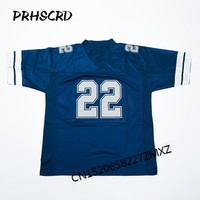 Retro star #22 Emmitt Smith Embroidered Throwback Football Jersey