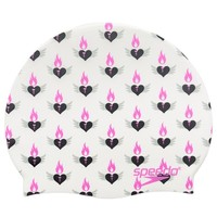 Speedo Valentine Royale Silicone Swim Cap at SwimOutlet.com