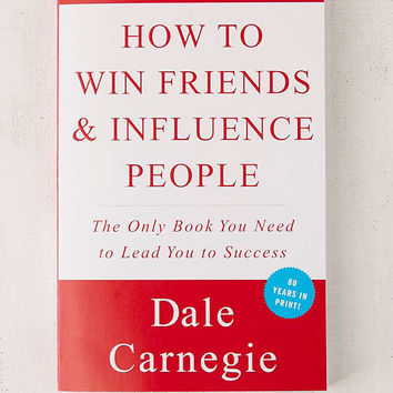 How To Win Friends & Influence People By Dale Carnegie | Urban Outfitters