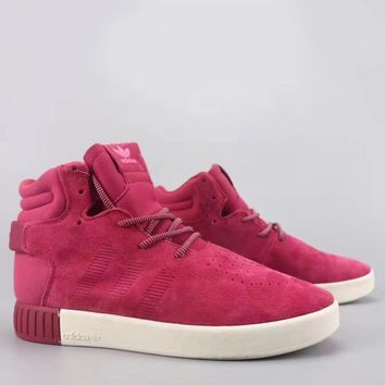 Adidas Tubular Invader Strap Fashion Casual High-Top Old Skool Shoes-20