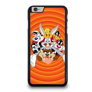 bugs bunny and friends looney tunes iphone 6 6s plus case cover  number 1
