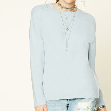 Brushed Knit Sweater