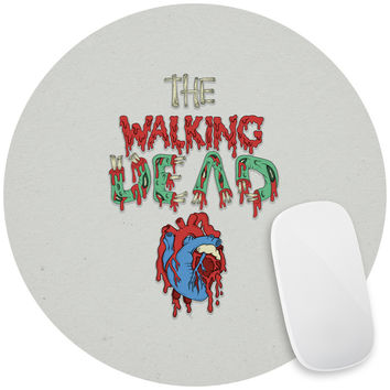Walking Dead Heart Mouse Pad Decal
