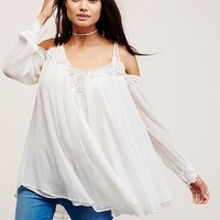 Free People Farrah Chiffon Tunic