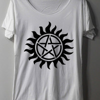 Supernatural Tattoo Shirt Series Movie Shirt TShirt T Shirt Tee Shirts - Size S M L