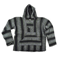 Mexicali Baja Joe Charcoal Lime Hoodie
