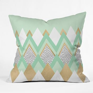 Elisabeth Fredriksson Little Princess Throw Pillow