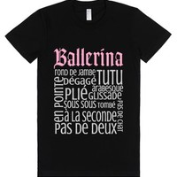 Ballerina-Female Black T-Shirt
