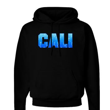 Cali Ocean Bubbles Dark Hoodie Sweatshirt by TooLoud